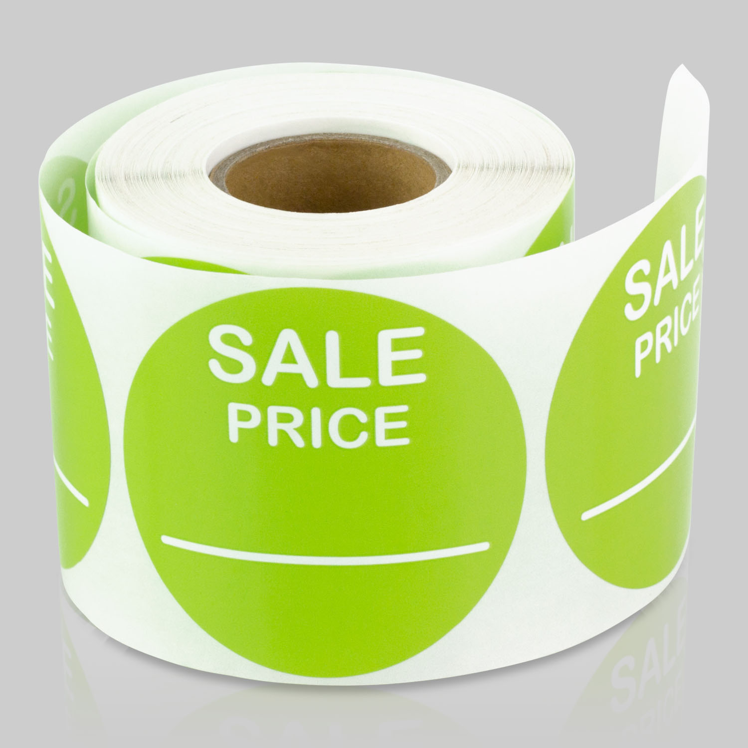 Garage Sale Price Stickers Round Sale Price Stickers 2 Inch 300 Labels Per Roll 5 Rolls Lime For Use Retail Yard Sales Or Garage Sale