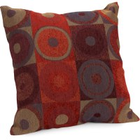 Hometrends Circles and Squares Decorative Pillow - Walmart.com