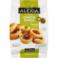 Alexia Crispy Onion Rings with Panko Breading and Sea Salt ...