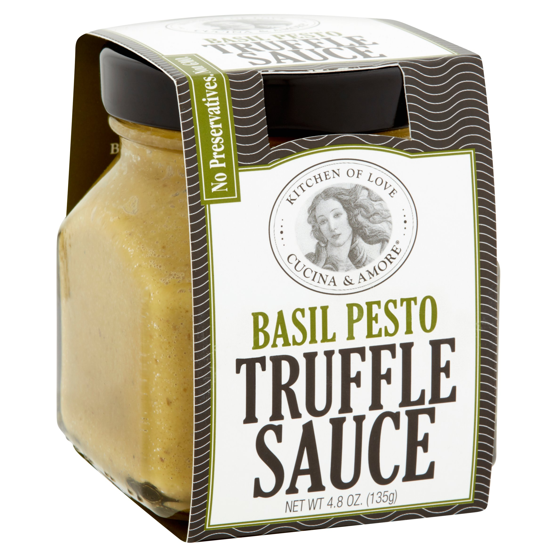Cucina & Amore Inc Kitchen Of Love Cucina Amore Basil Pesto Truffle Sauce 4 8 Oz 6 Pack