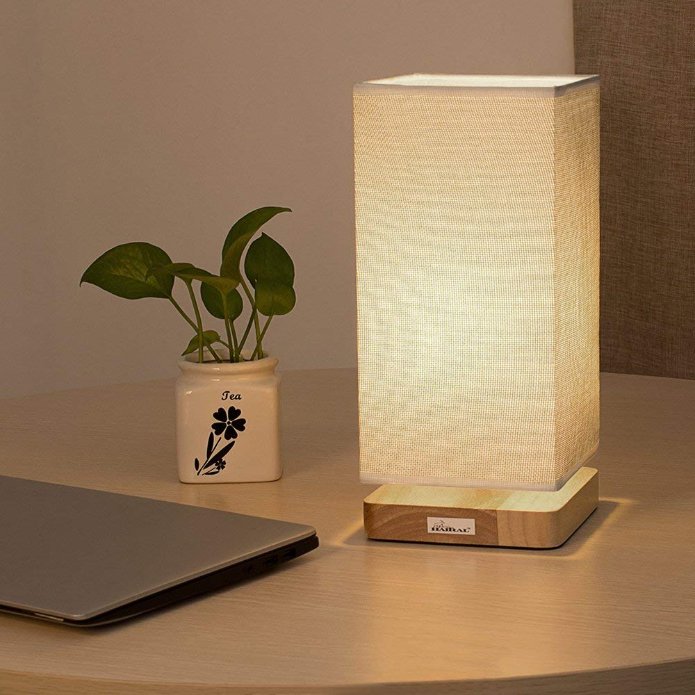 Bed Table Lamps Haitral Japanese Style Table Lamp Reading Lamp For Bed Room Night Light Ht B007