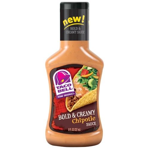 Medium Of Taco Bell Hot Sauce