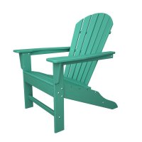 POLYWOOD South Beach Recycled Plastic Adirondack Chair ...