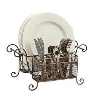 Buffet Caddy: Napkin, Plate and Flatware Holder - Walmart.com