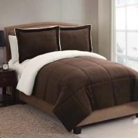 Victoria Classics Micro Mink Sherpa 3-Piece Bedding ...