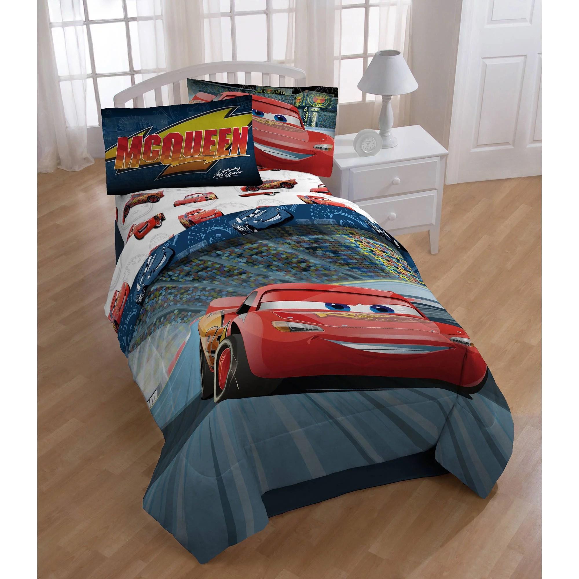 Disney Cars 3 Twin Full Comforter Walmartcom