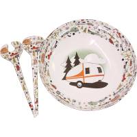 Camp Casual CC-003 RV Camping Outdoor Dinnerware Serving ...