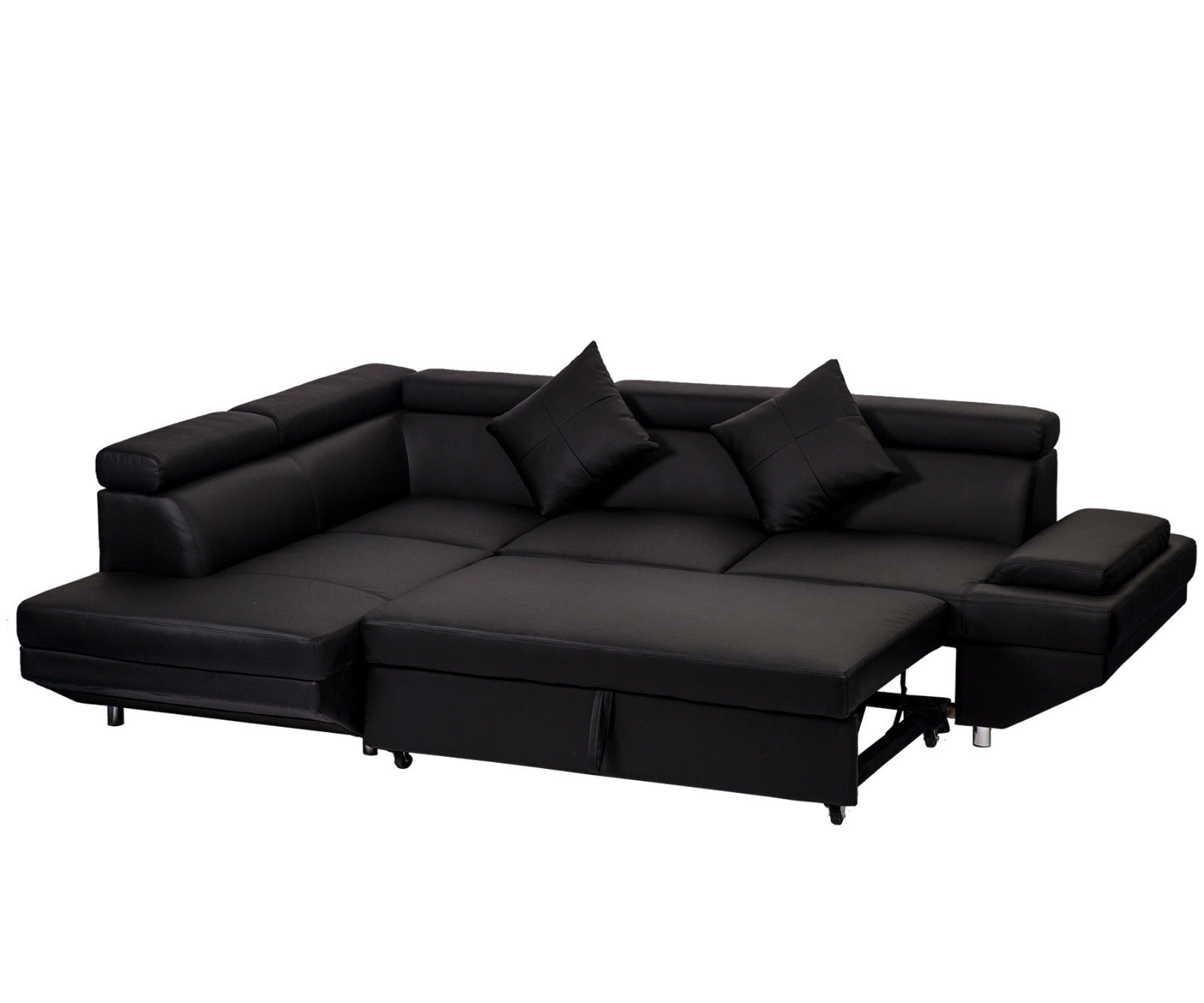 Sofa L Images Contemporary Sectional Modern Sofa Bed Black With Functional Armrest Back L