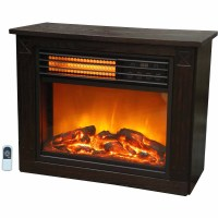 Lifezone Compact Infrared Electric Space Heater Fireplace ...