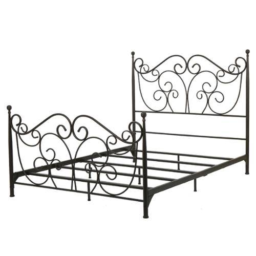 Denise Austin Home Horatio Metal Bed Frame Queen Size