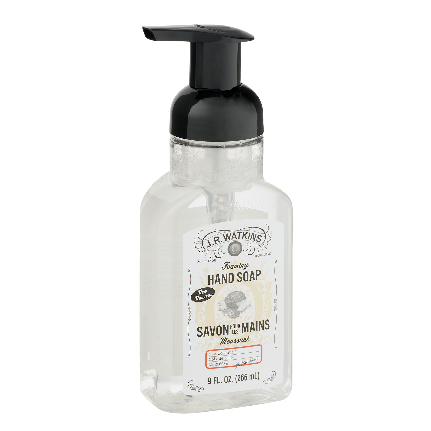 Unique Hand Soap Dispenser J R Watkins Foaming Hand Soap Coconut 9 Oz Pump Walmart