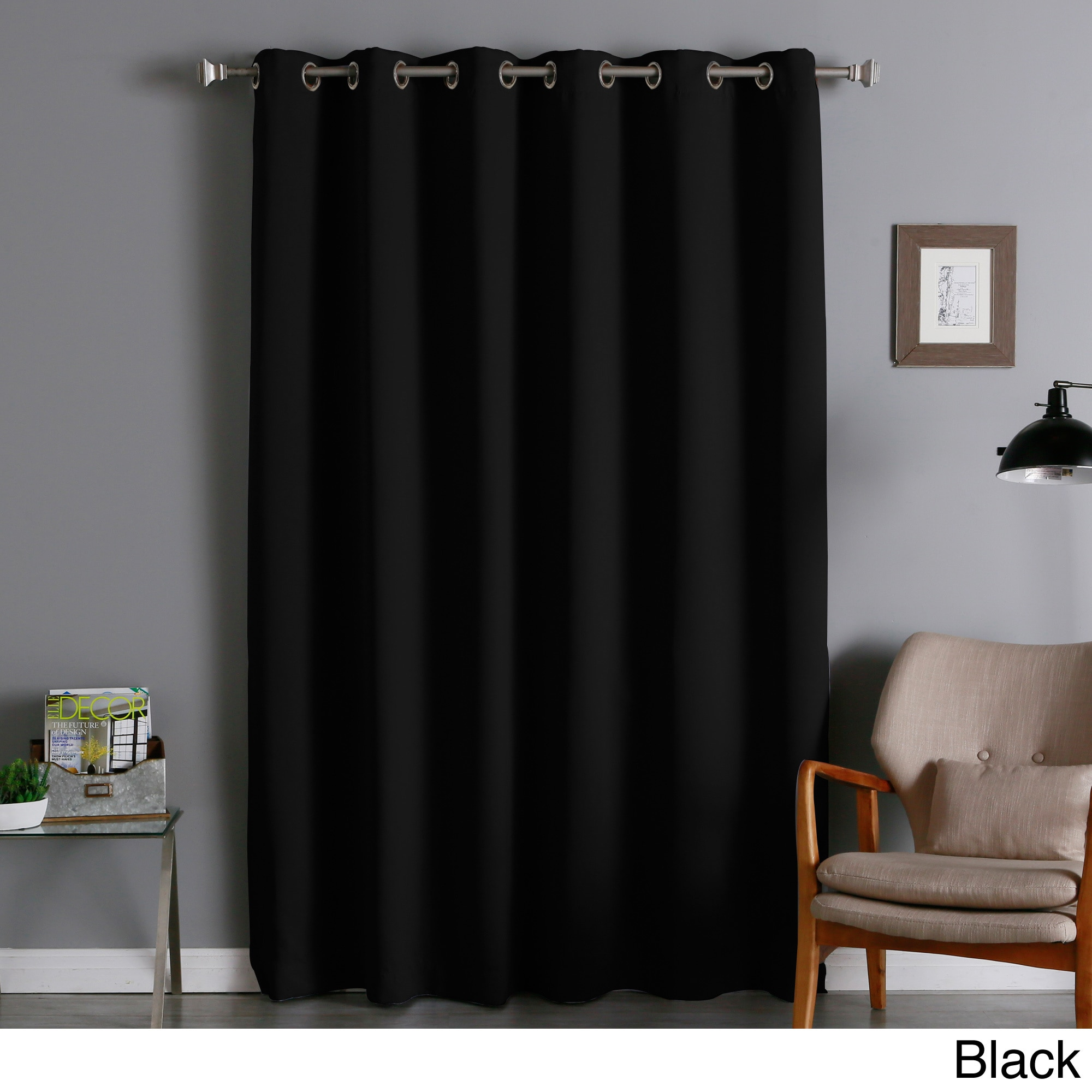 94 Inch Blackout Curtains Aurora Home Extra Wide Thermal Insulated 84 Inch Blackout Curtain Panel