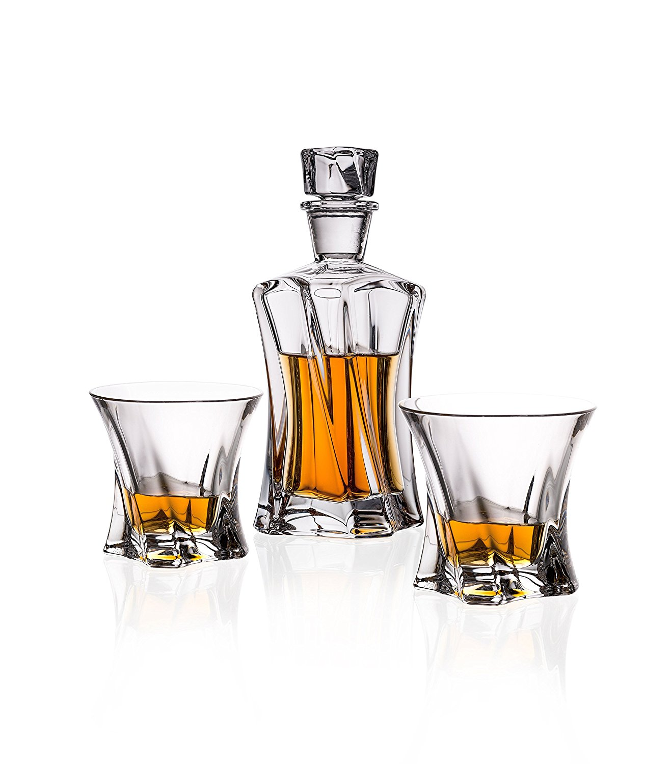 Whiskey Set Bohemia Crystal Whiskey Set