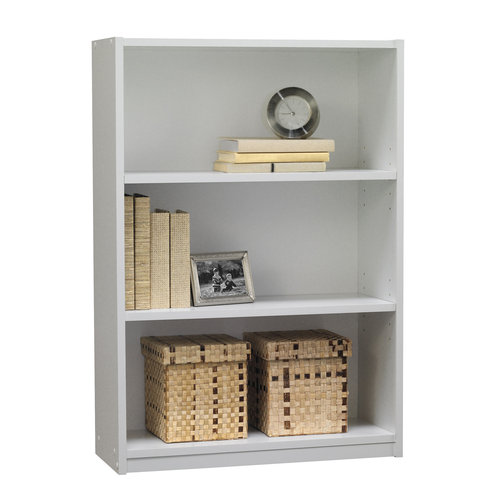 Mainstays 3 Shelf Bookcase White Walmartcom