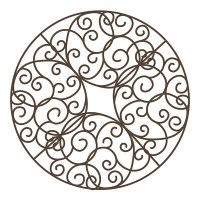 Bronze Scroll Ceiling Medallion - Walmart.com