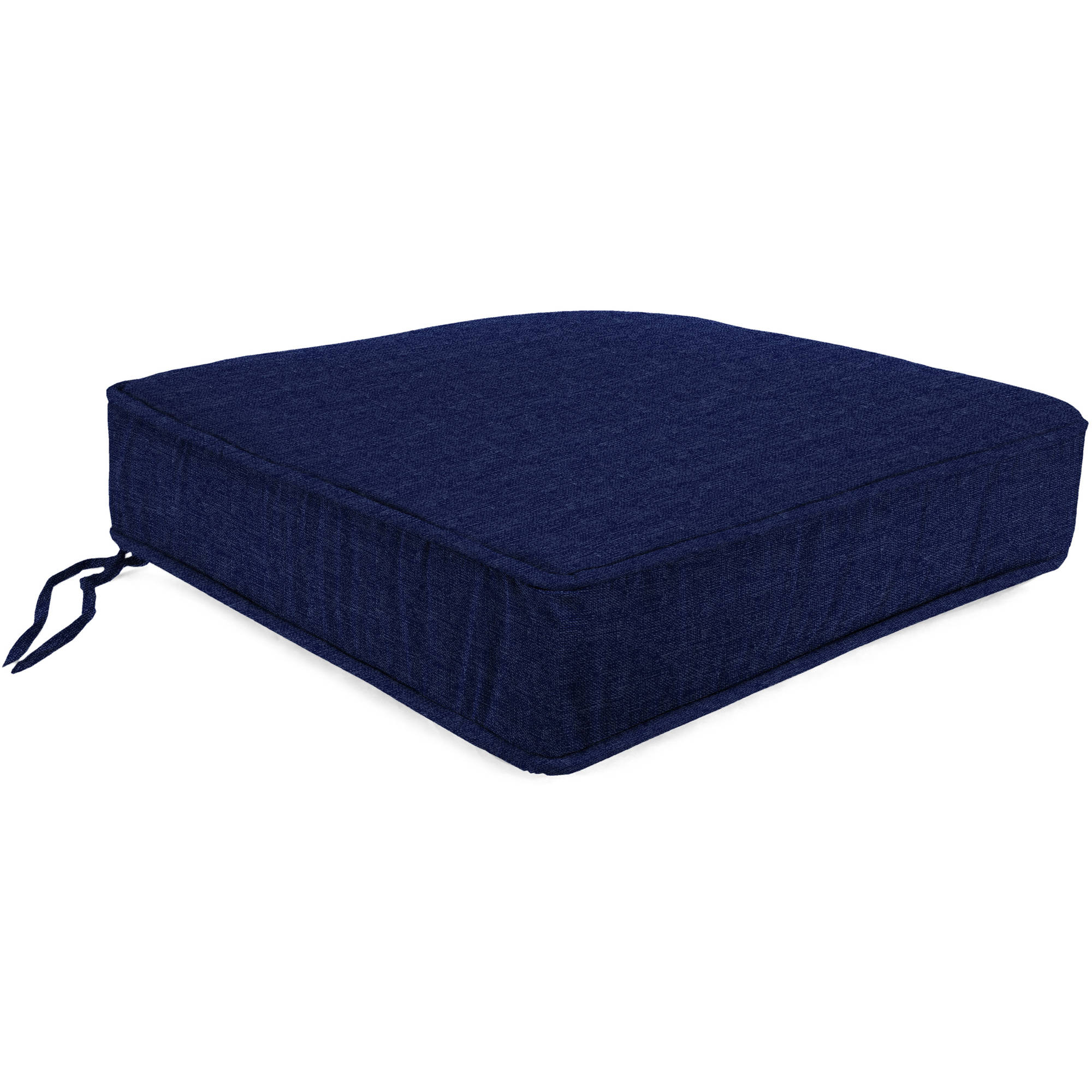 Jordan Manufacturing Outdoor Patio Boxed Edge Seat Cushion