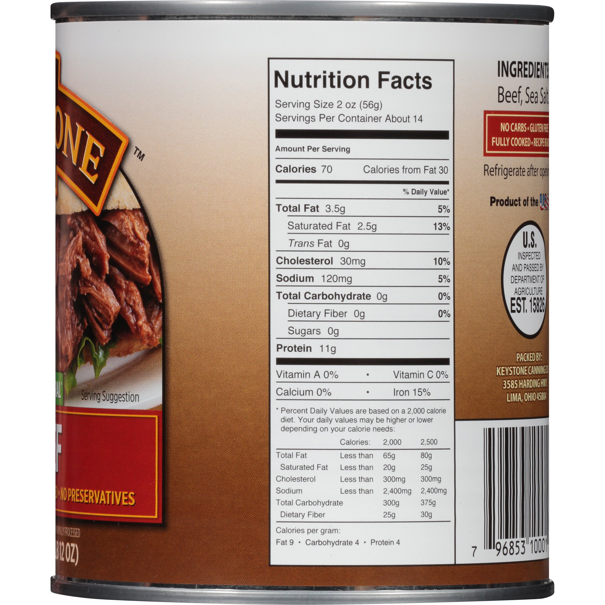 Beef Stock Kaufen Keystone All Natural Beef 28 Oz Walmart