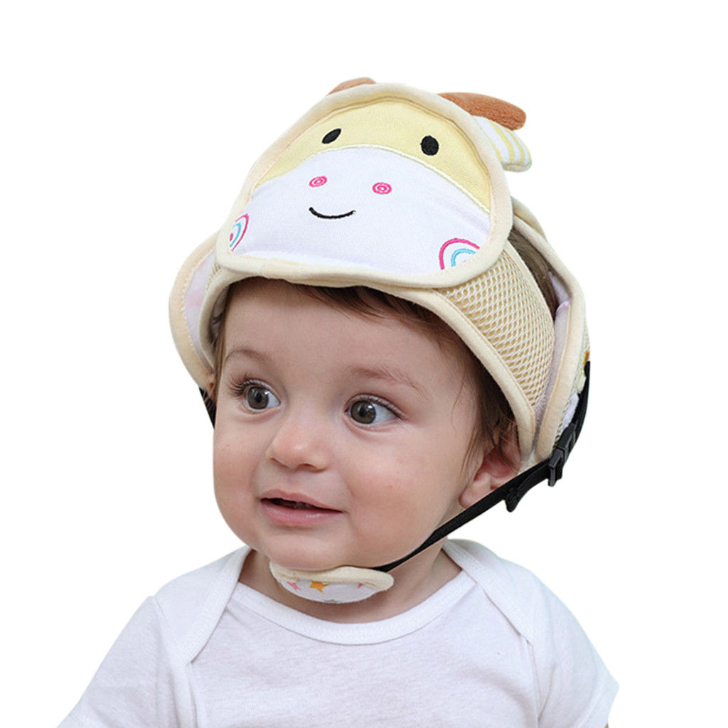 Baby Practical Safety Helmet Cotton Bumper Protective Cap - Baby Safety Helmet Walmart
