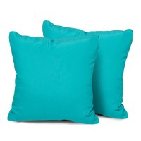 Aruba Outdoor Throw Pillows Square Set of 2 - Walmart.com