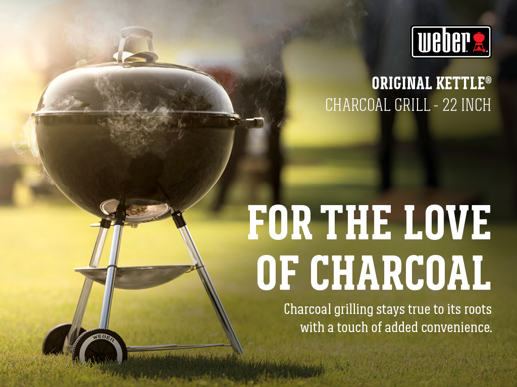 Weber Grill One Touch Weber Original Kettle Charcoal 22in