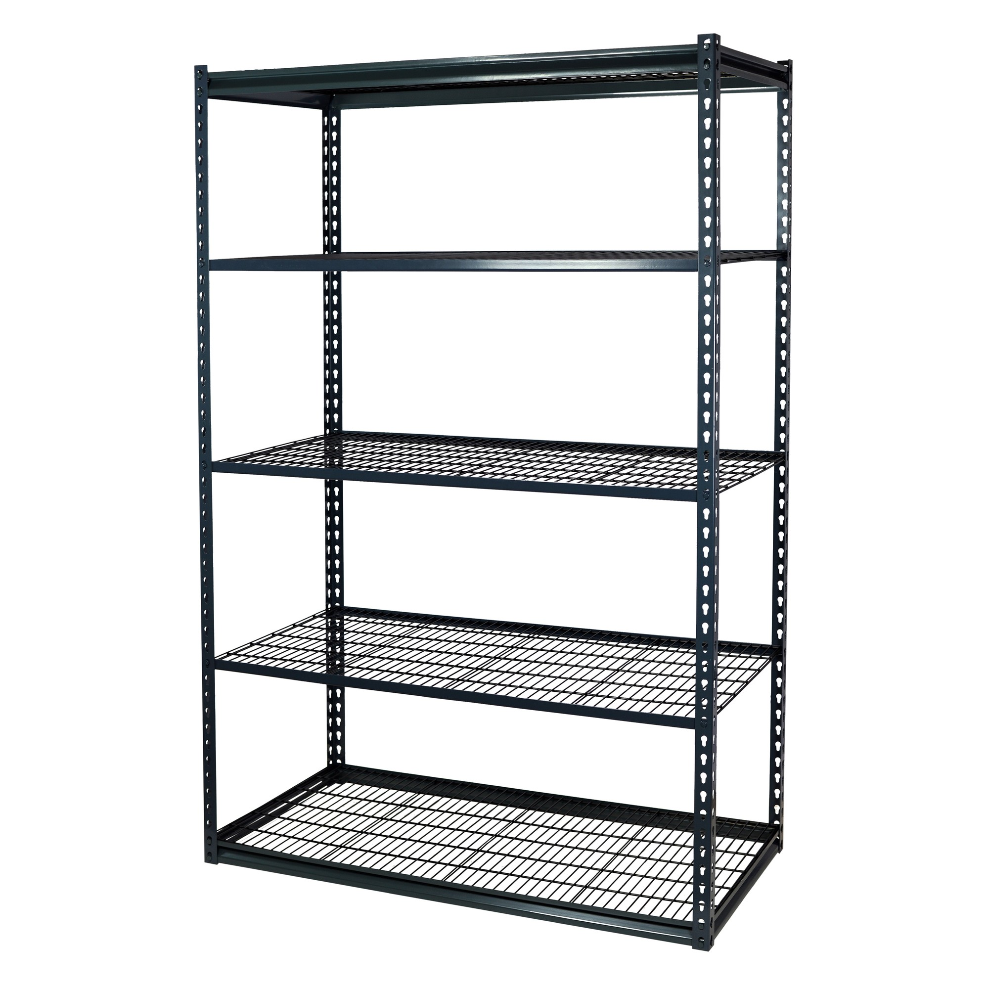 Garage Shelving Units Storage Max Garage Shelving Boltless 36 X 12 X 72 Low Profile 5 Shelves