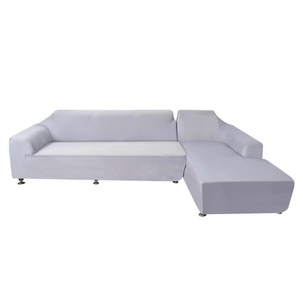 Sectional Corner Couch Ubesgoo L Shape Design Stretch Sofa Cover Sectional Corner Couch Elastic Fabric Covers