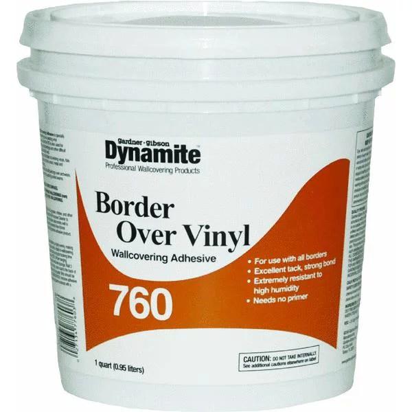 Dynamite 760 Vinyl Over Vinyl Wallcovering Adhesive - Walmart.com