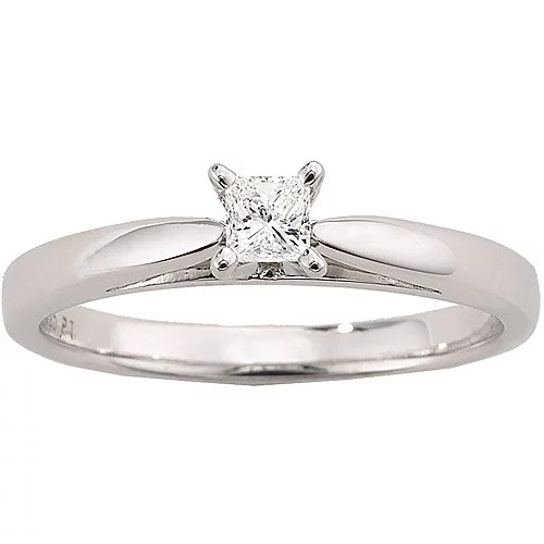 Always & Forever Platinaire 1/5 Carat Diamond Princess