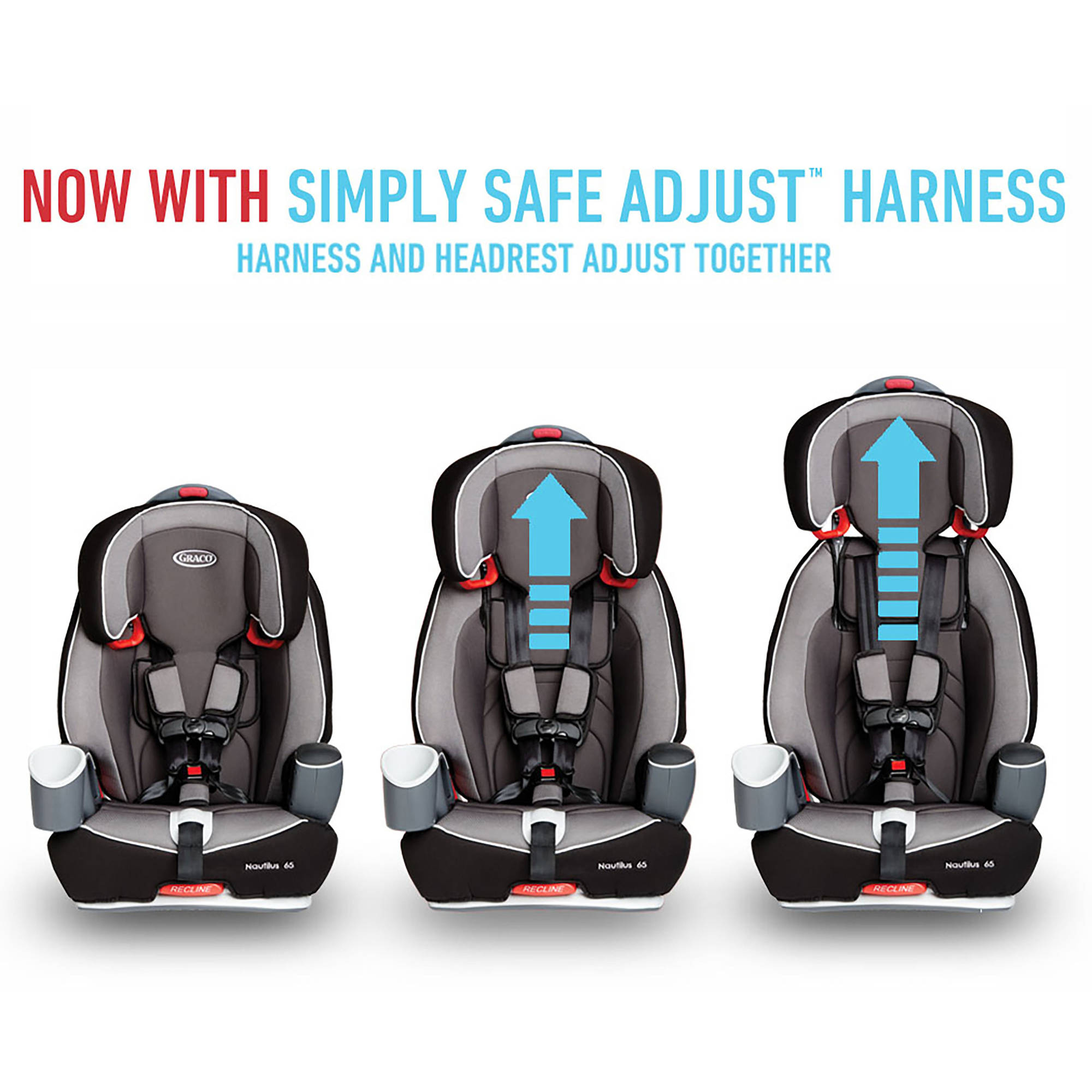 Graco nautilus 65 3 in 1 multi use harness booster car seat choose your pattern walmart com