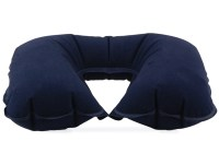 Inflatable Travel Neck Pillow - Blue - Walmart.com