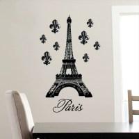 DCWV Vinyl Decal Eiffel Tower Wall Decal