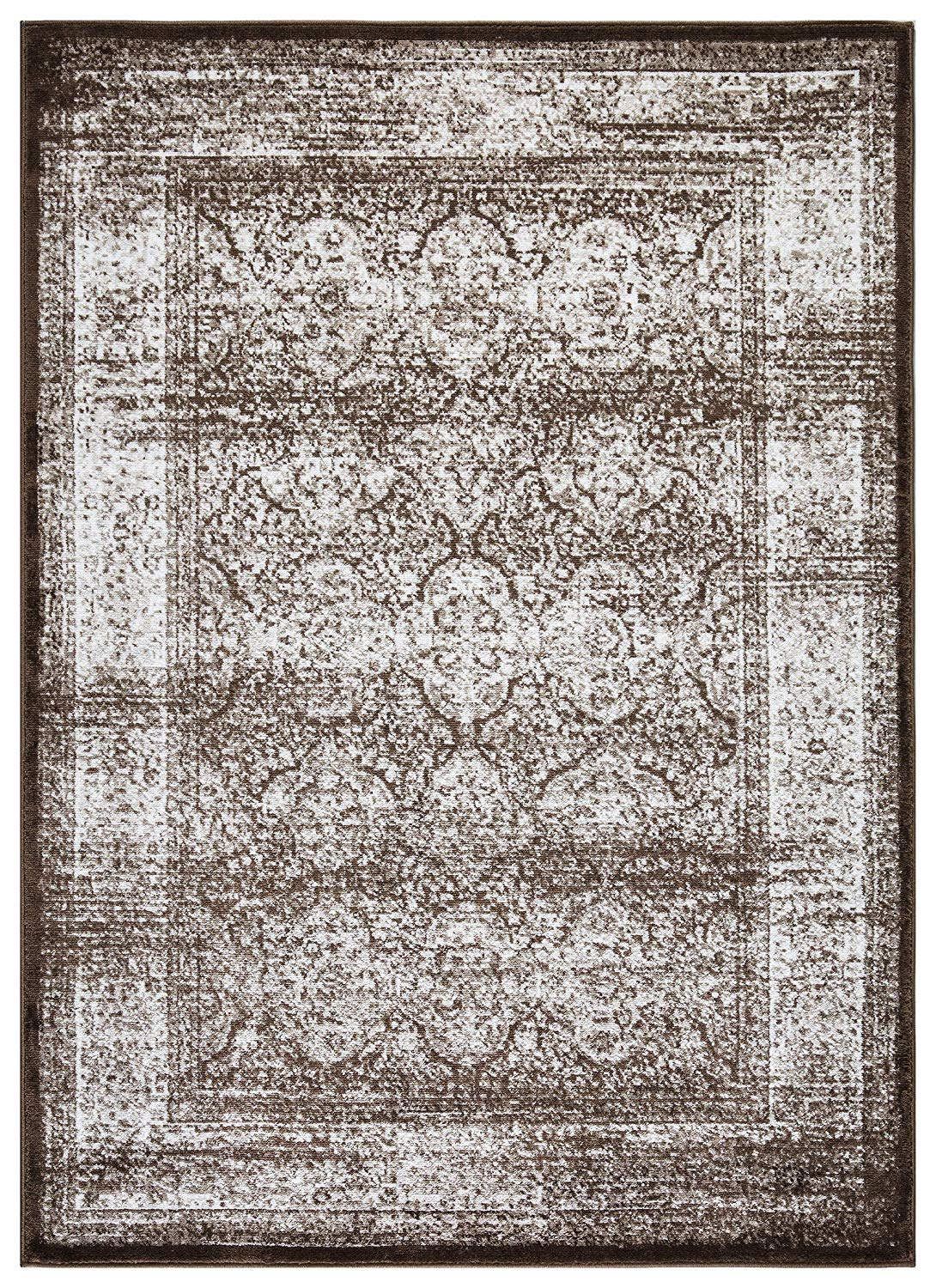Regal 5x7 Vintage Oriental Medallion Area Rug 1174 In Bone - Weies Metallregal Good Regal Medallion Series Cclamp Traditional