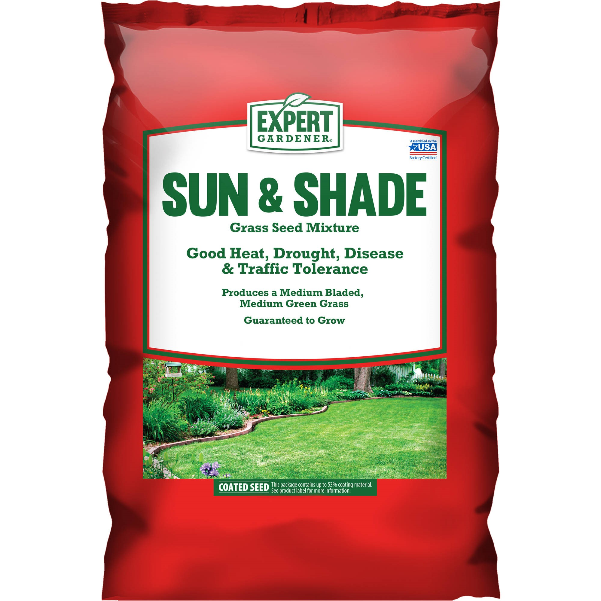 Gardene Expert Gardener Sun And Shade Grass Seed North 7 Pounds Covers Up To 1 750 Square Feet