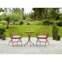 Modern Outdoor Furniture Sale Bistro Set 3 Piece Patio ...