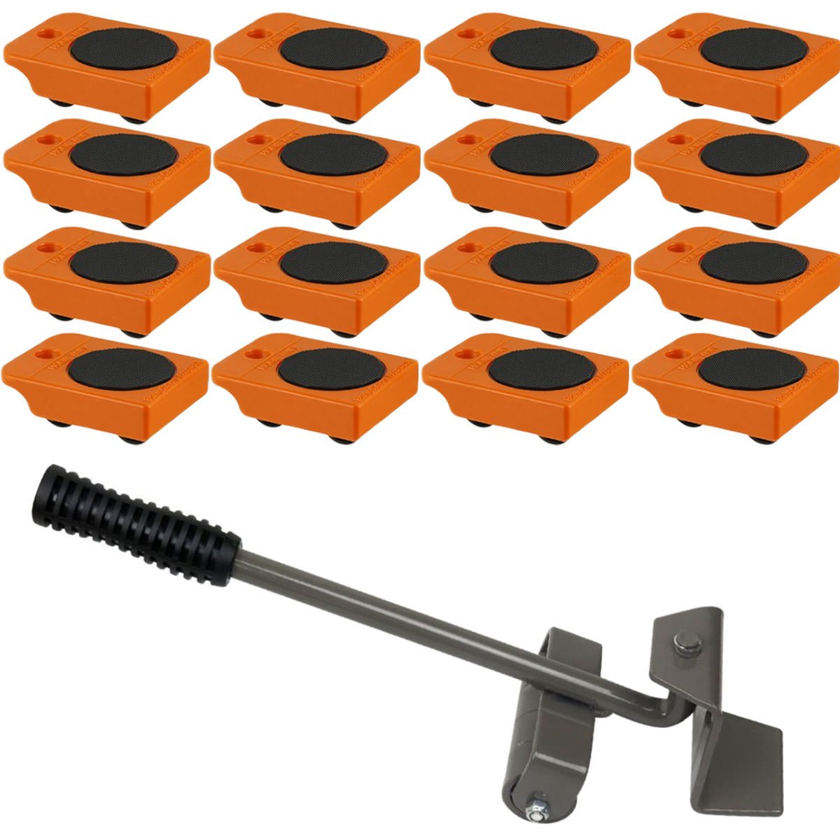 Furniture Lifter with 16pc Mover Rollers, Move Heavy