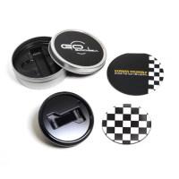 GoBadges BKC015 Magnetic Black Grill Badge Holder Starter ...