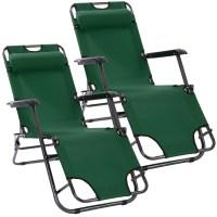 2pcs Outdoor Zero Gravity Chair, Folding Heavy Duty ...
