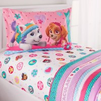 PAW Patrol Girl 'Best Pup' Twin Bedding Sheet Set ...