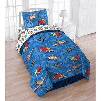 Jay Franco And Sons 12440737 Disney Planes Twin Bedding ...