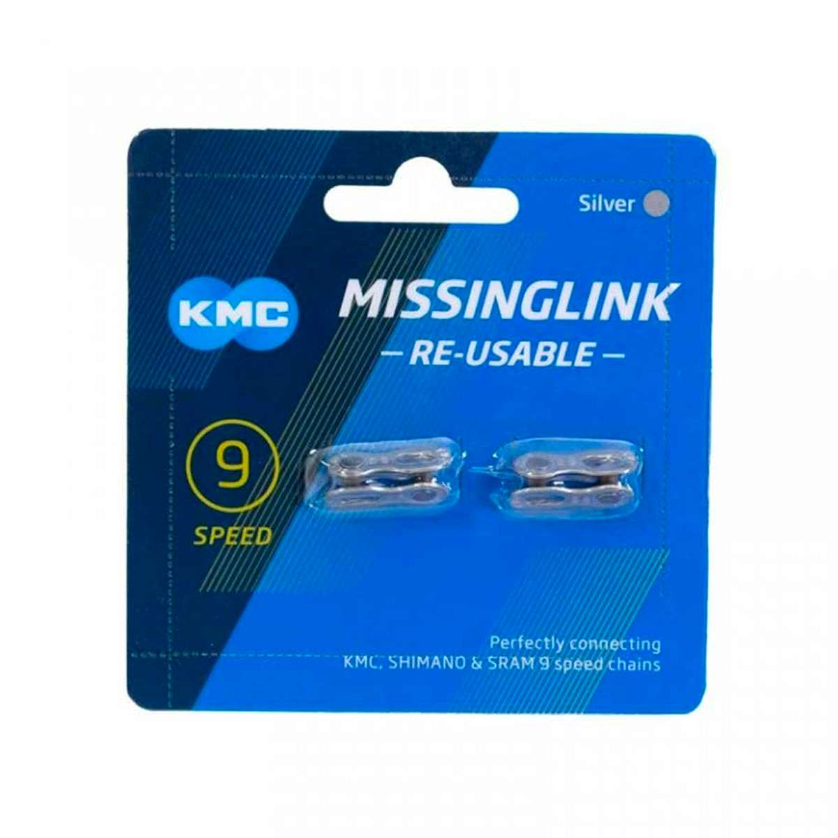 Kmc 9 Speed Bicycle Chain Missing Link 2 Pack 766759056605 - Kmc Tax Payment Online