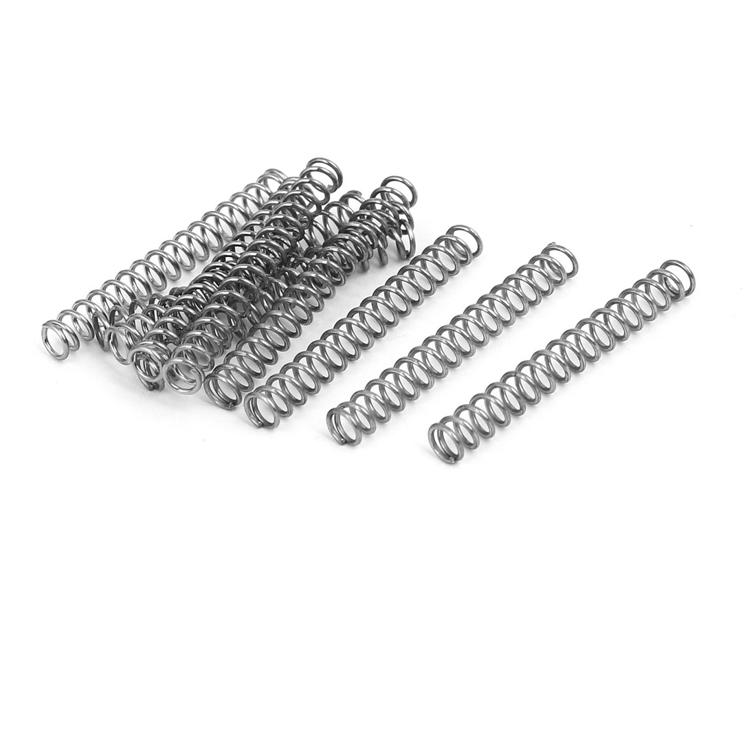 Compression Springs 7mmx5mmx40mm 304 Stainless Steel Compression Springs 10pcs