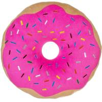 Pink Donut Plush Photo Real Pillow - Walmart.com