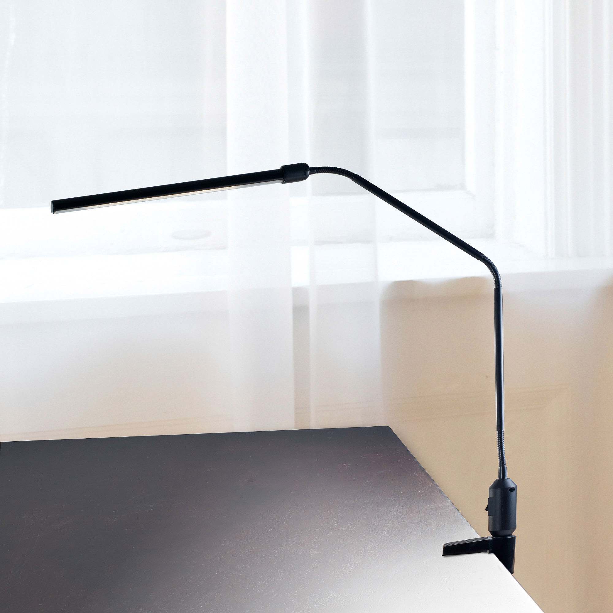 Desk Lamp Lavish Home Modern Contemporary Led Clamp Desk Lamp