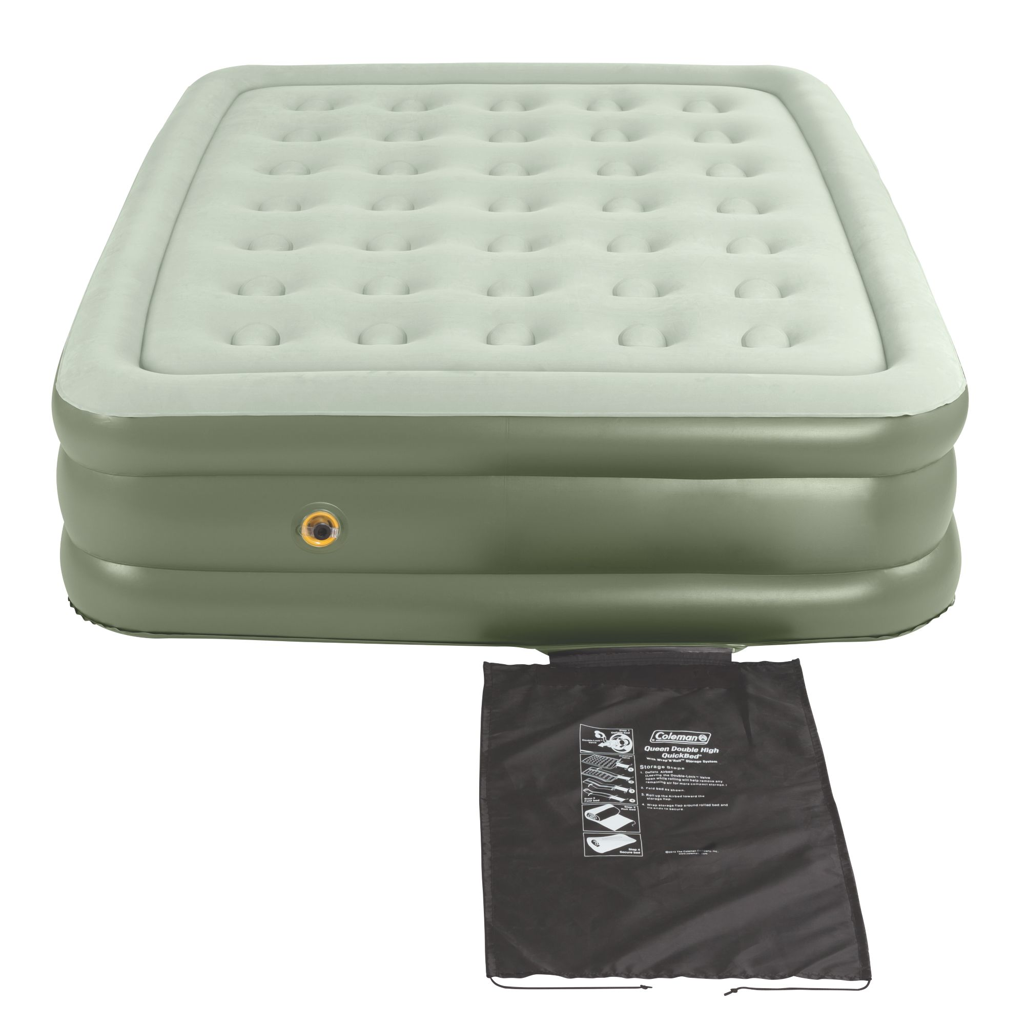 Queen Air Mattress Cot Coleman Supportrest Elite Quilted Top Airbed Full Air Mattress