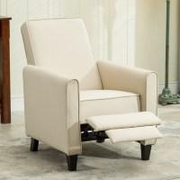 Belleze Modern Recliner Club Chair Accent Living Room w ...