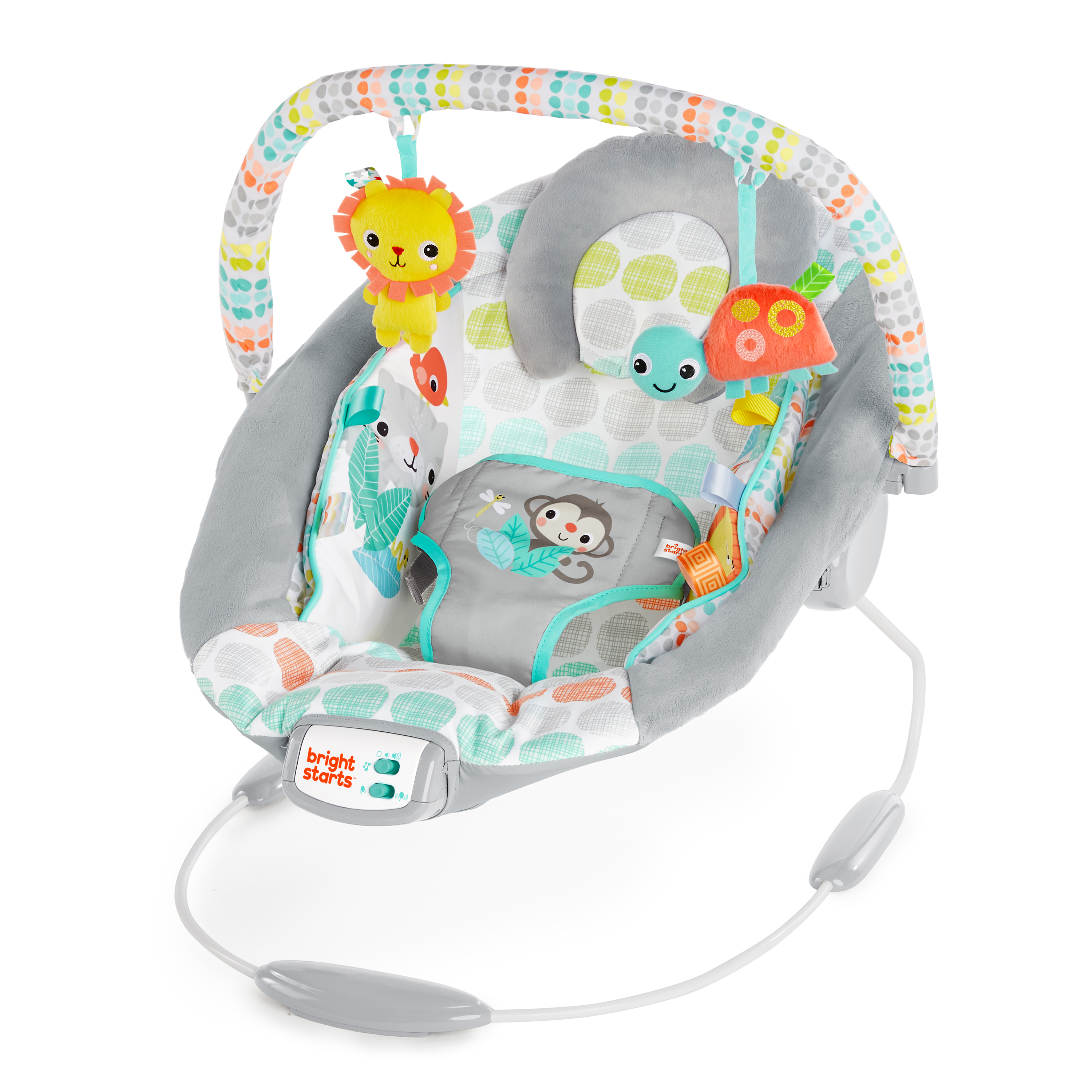 Bouncer Baby Bright Starts Cradling Bouncer Whimsical Wild