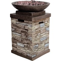 Bond Gas Fireplace - Outdoor - Walmart.com