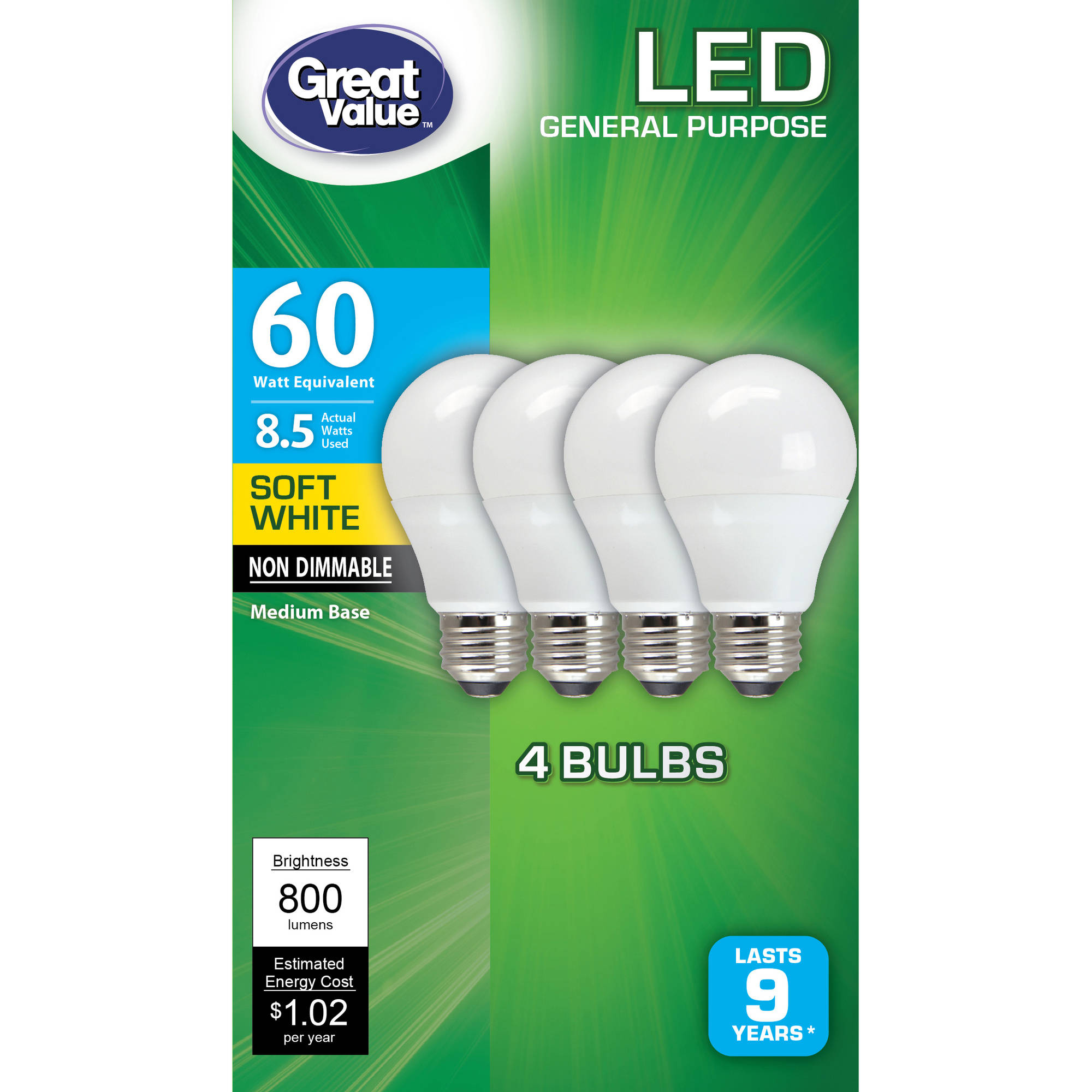 Buy Lightbulbs All Light Bulbs By Walmart