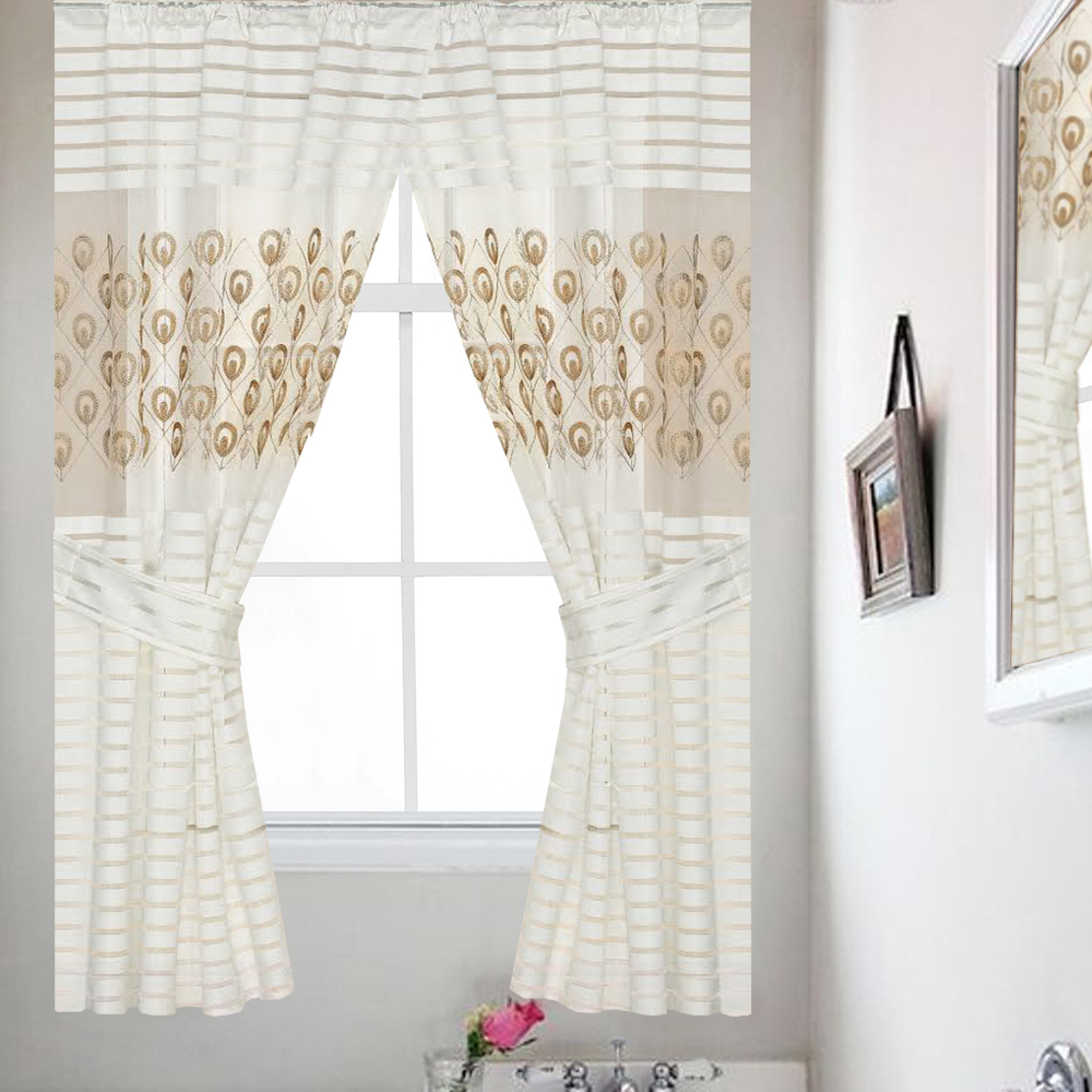 Bathroom Window Covering Popular Bath Seraphina Bathroom Window Curtain Set 54