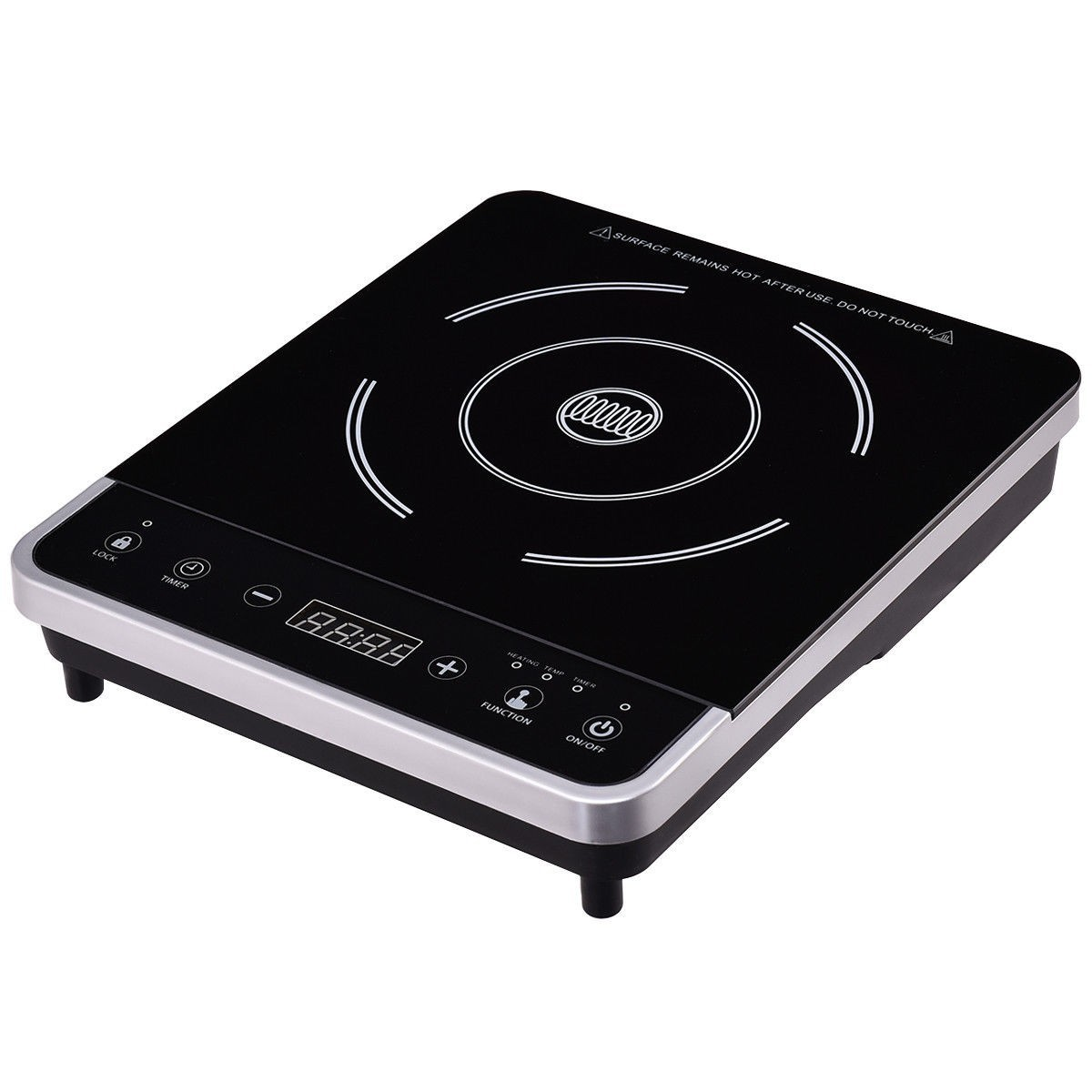 Induction Hot Plate Electric Induction Cooker Single Burner Digital Hot Plate